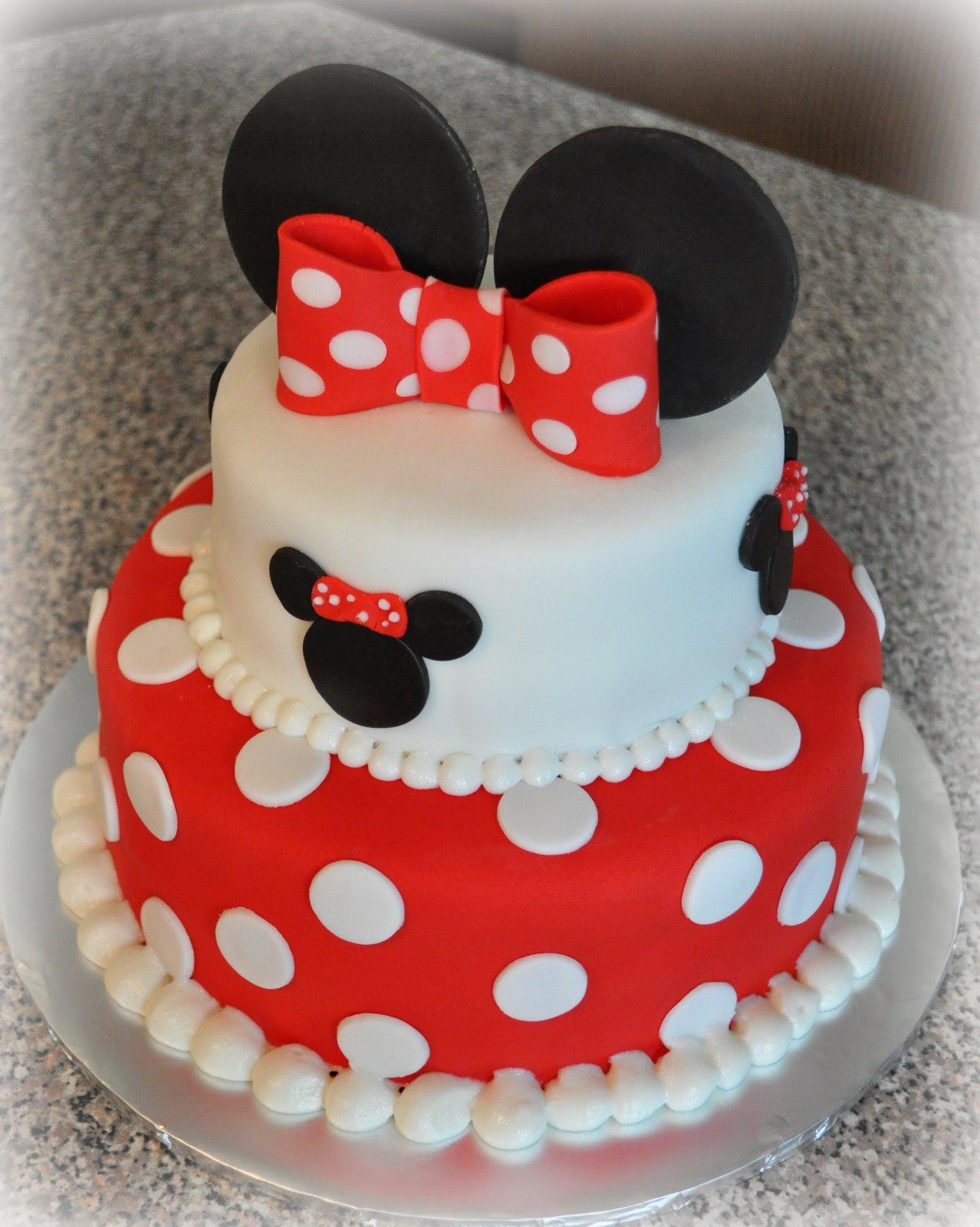 Minnie Mouse Birthday Cake