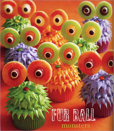 13 Photos of Fun Halloween Monster Cupcakes