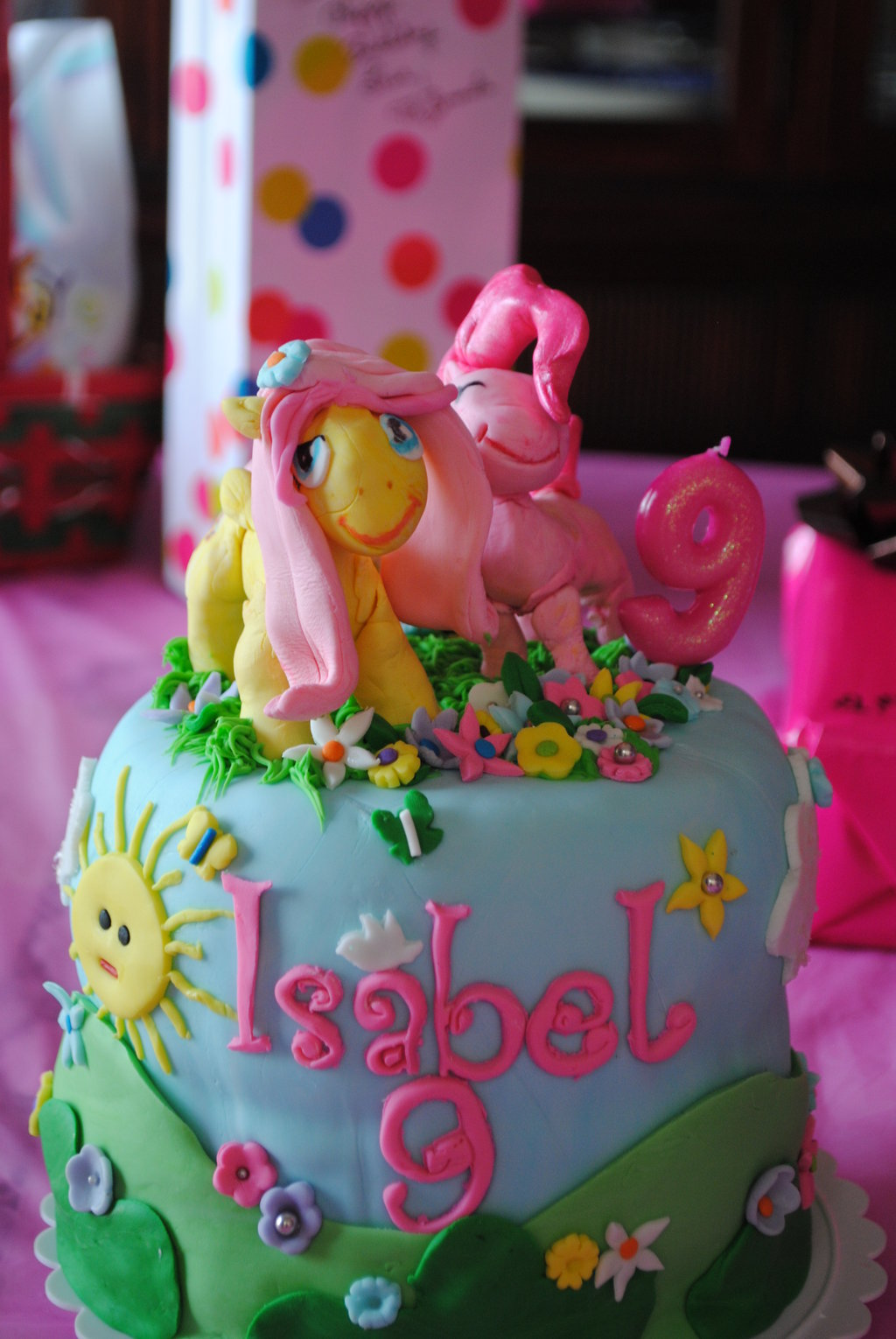 My Little Pony Friendship Is Magic Birthday Cake