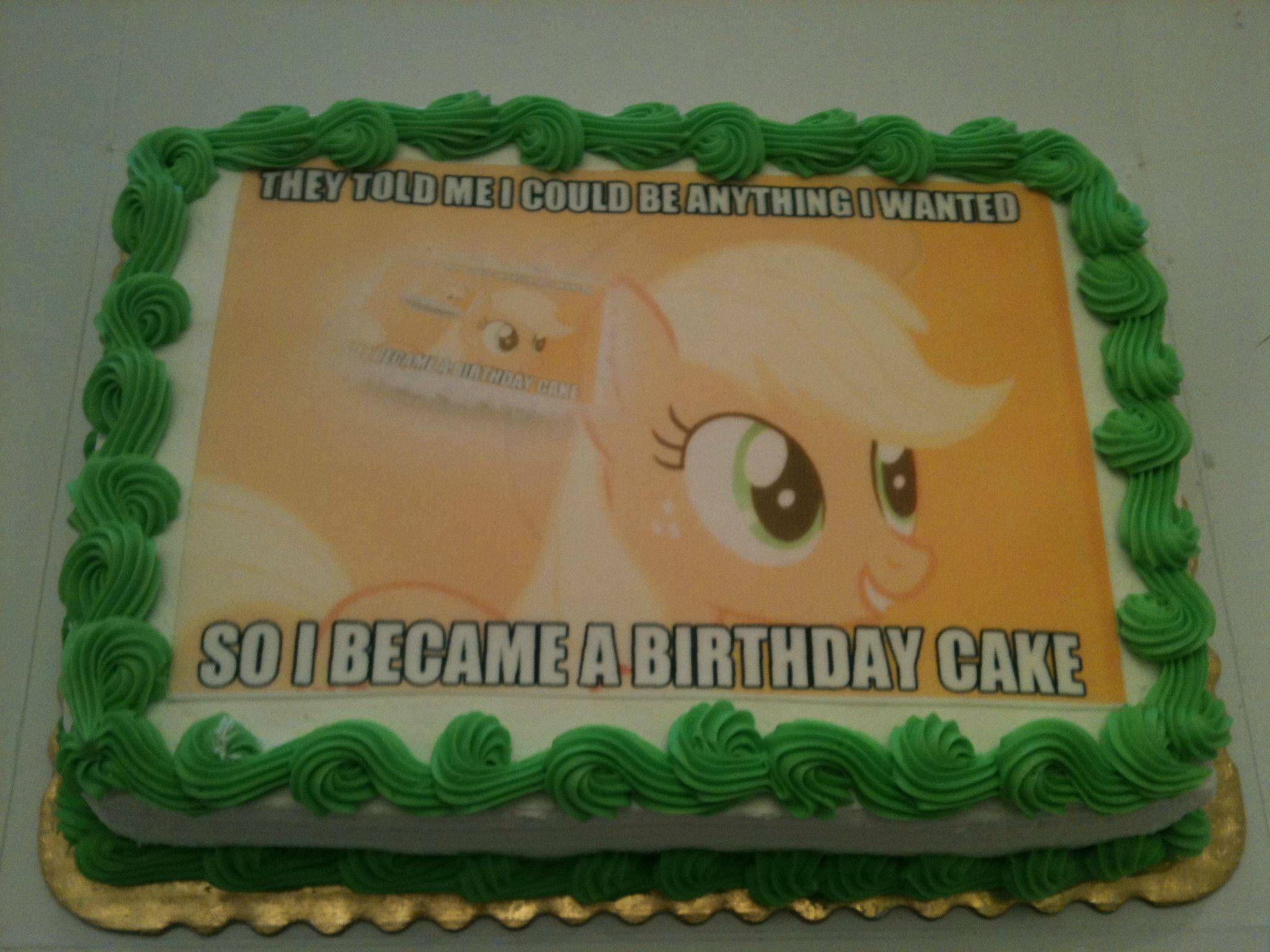 12 Photos of Friendship Is Magic My Little Pony Sheet Cakes