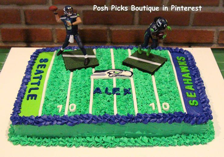 NFL Football Birthday Cakes for Boys