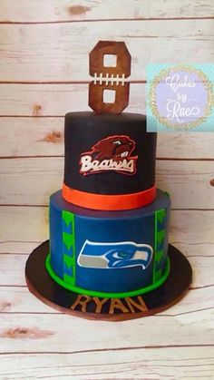 Oregon State Beaver Birthday Cake