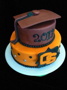 Oregon State Graduation Cap