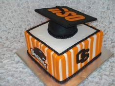 9 Photos of Oregon State Graduation Cakes