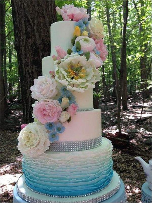 Pastel Wedding Cake Ideas