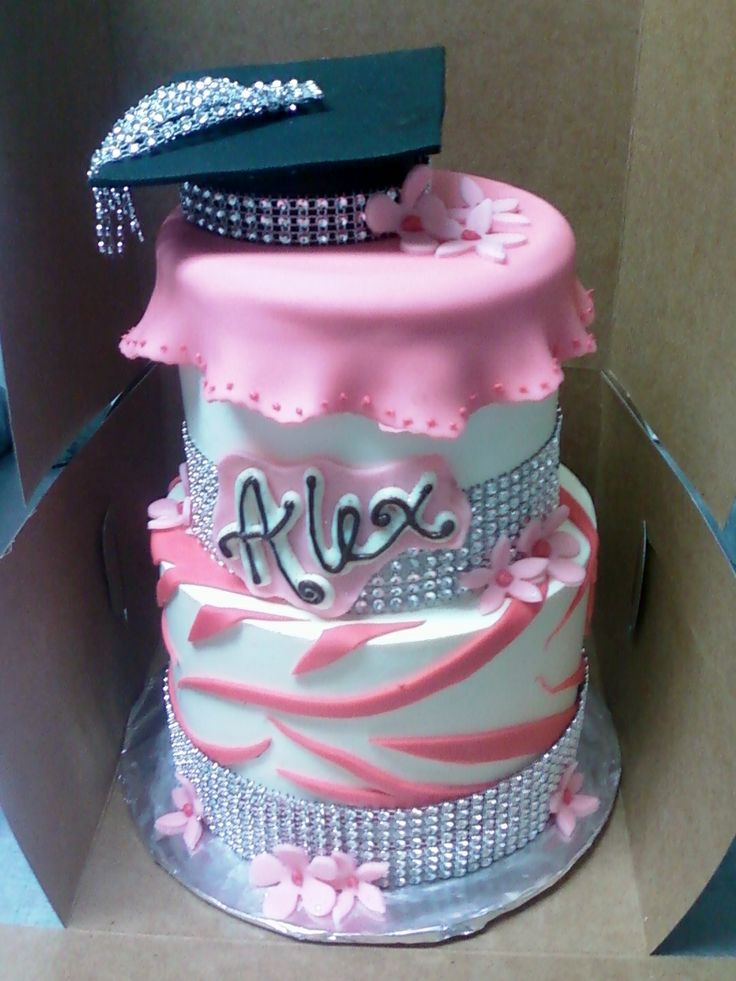 10 Photos of Graduation Cakes With Bling