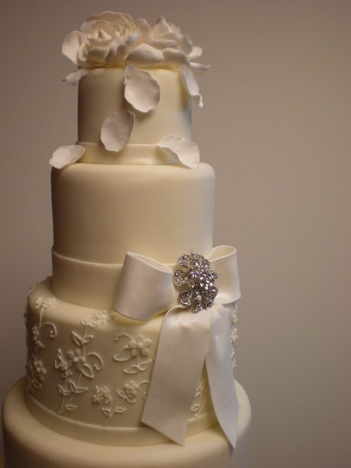 Pretty Cake Bow