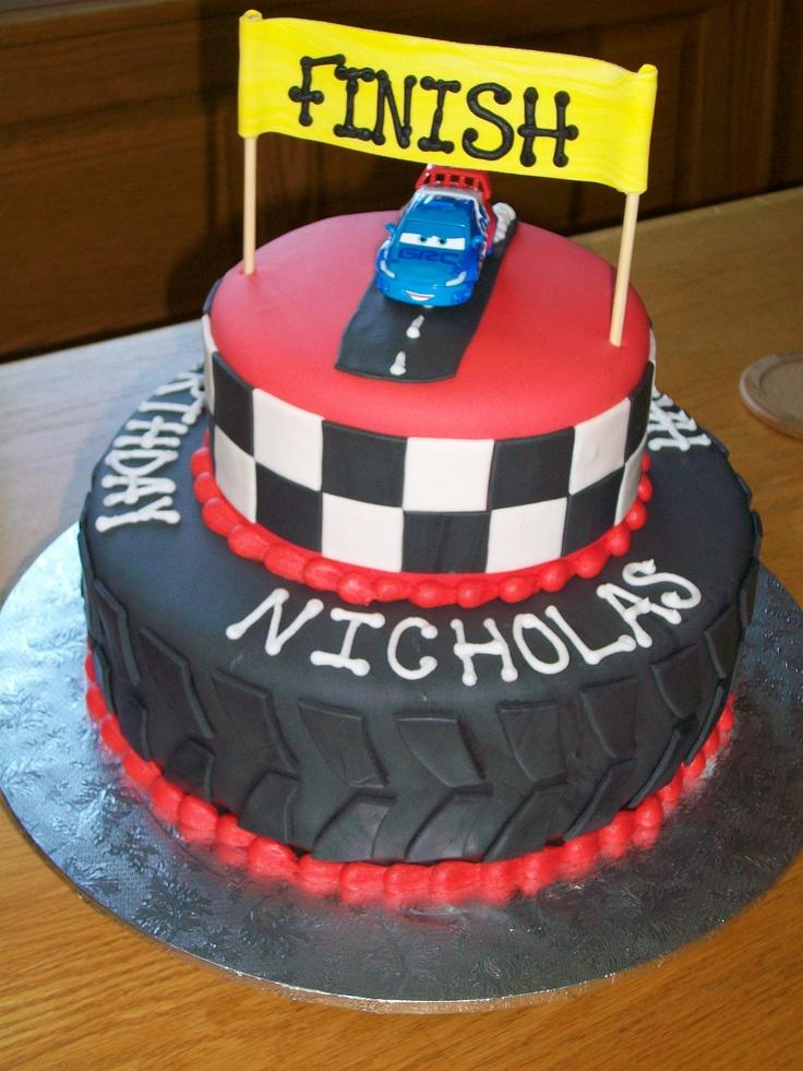 Prime 10 Car Birthday Cakes For Him Photo Cars Birthday Cake 60Th Birthday Cards Printable Inklcafe Filternl