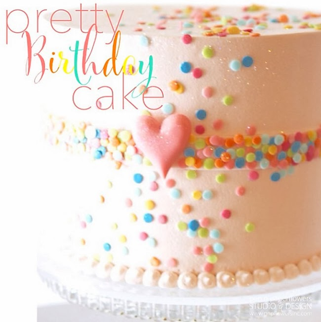 Rainbow Unicorn Birthday Party Cake
