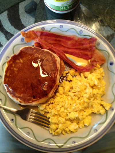 Scrambled Eggs and Pancakes Tumblr