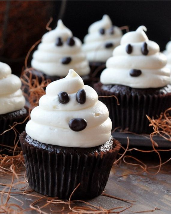 11 Photos of Halloween Cup Cakes
