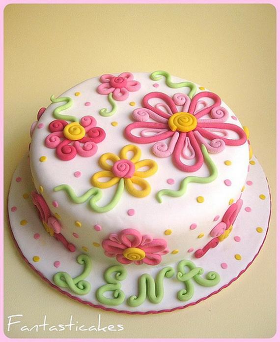 Spring Cake Decorating Ideas