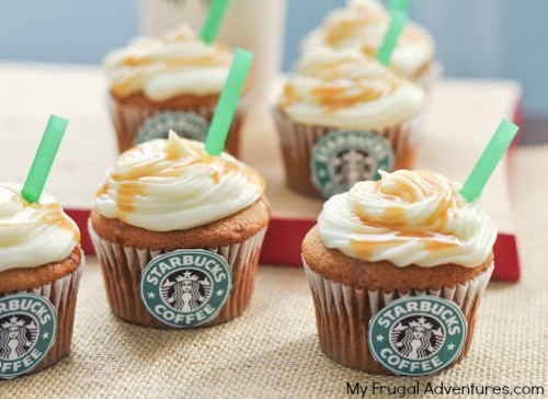 Starbucks Salted Caramel Cupcakes Recipe