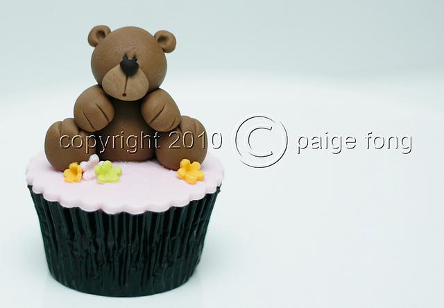 Teddy Bear Fondant Cake