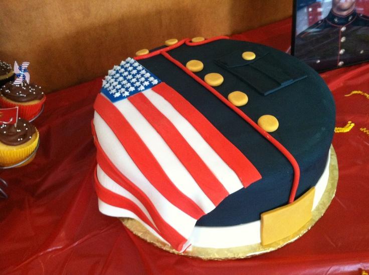 U.S. Marine Cake