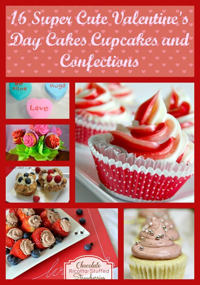 Valentine's Day Cupcake Cake