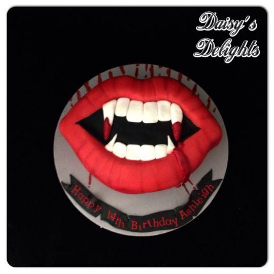 Vampire Diaries Themed Cakes