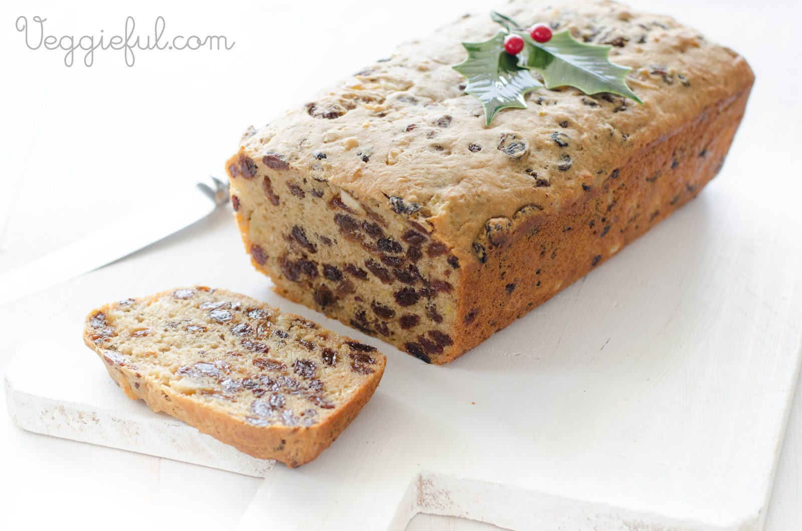Vegan Fruit Cake Recipe