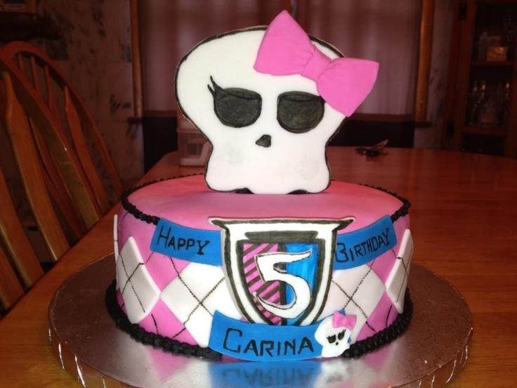 Pleasing 8 Monster High Birthday Cakes In Las Vegas Photo Monster High Personalised Birthday Cards Veneteletsinfo