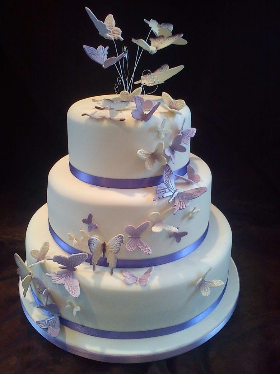 Wedding Cake Butterflies