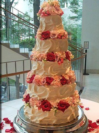 Wedding Cake without Fondant