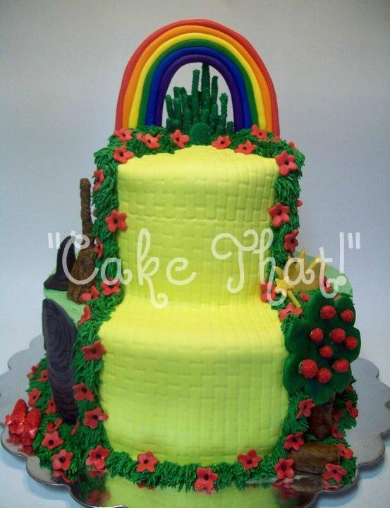 Wizard of Oz Birthday Cake Ideas
