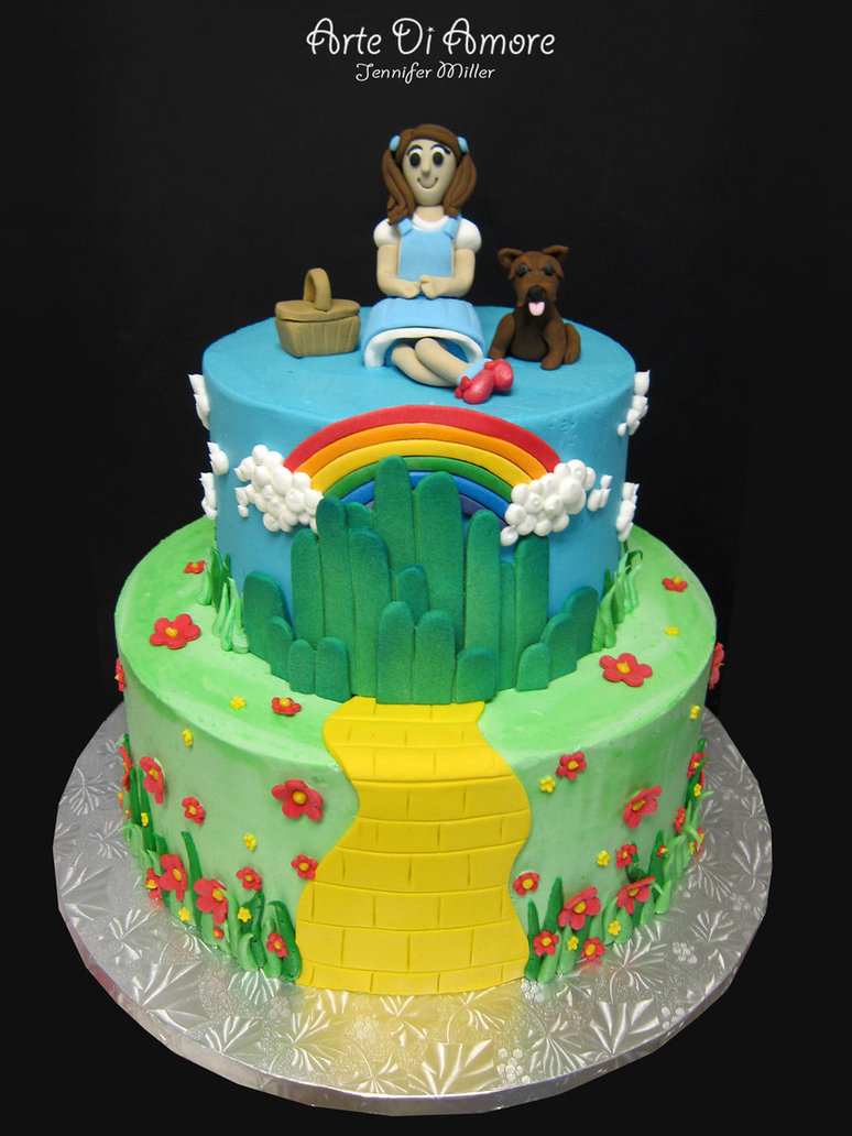 Wizard of Oz Cake Decorations