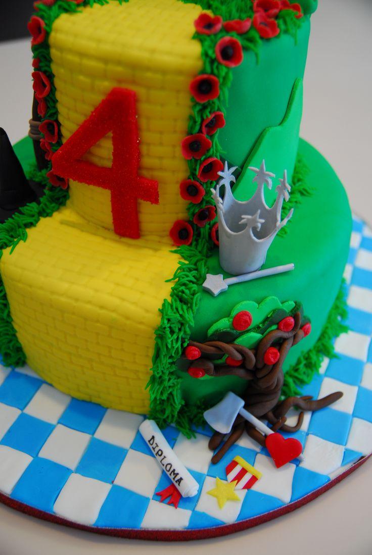 Wizard of Oz Cake Idea