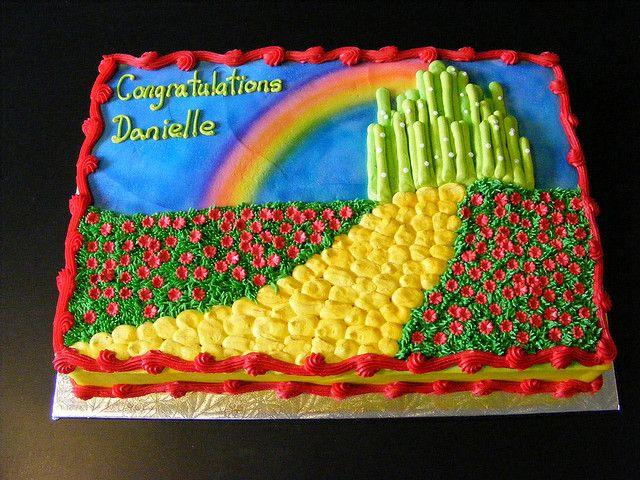 Wizard of Oz Shower Cake