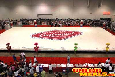 World's Biggest Birthday Cake