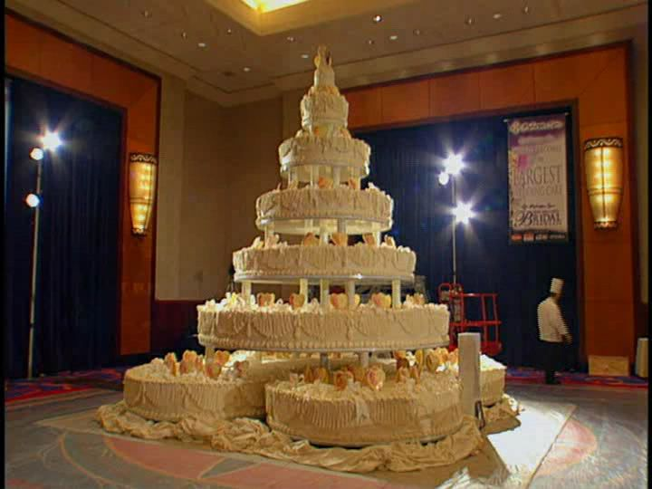 World's Biggest Wedding Cake Ever