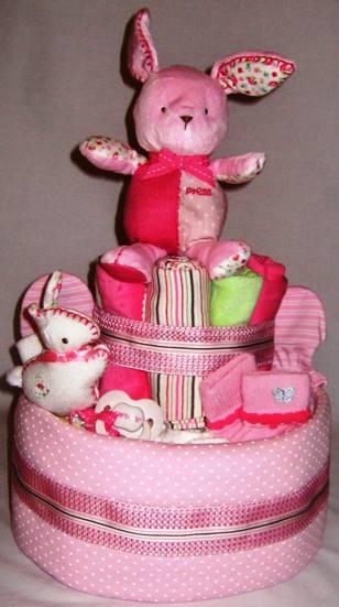 3 Tier Diaper Cake