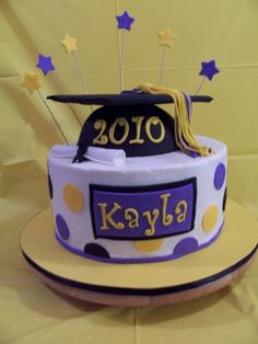 8th Grade Graduation Cake Ideas