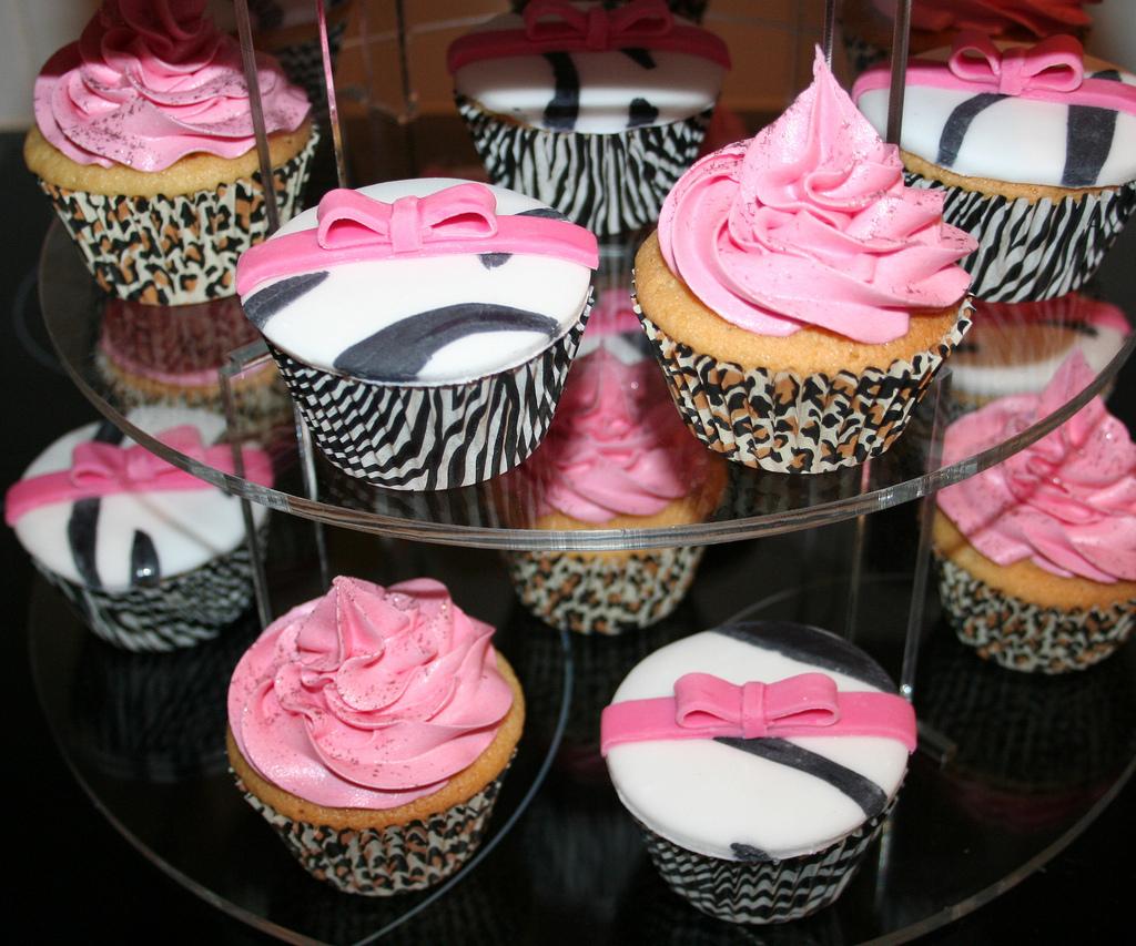 Animal Print Cupcake Holders