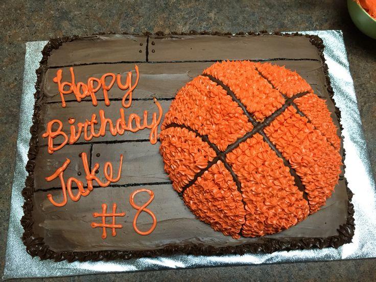 Basketball Birthday Cake Ideas