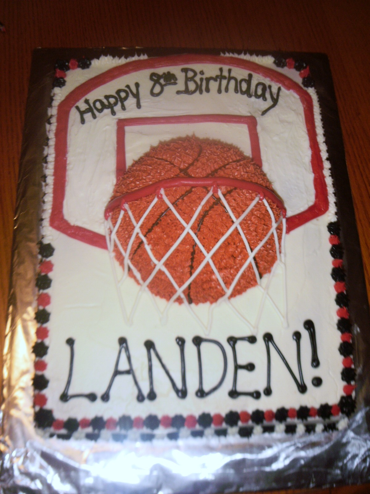 11 Photos of Basketball Themed Sheet Cakes