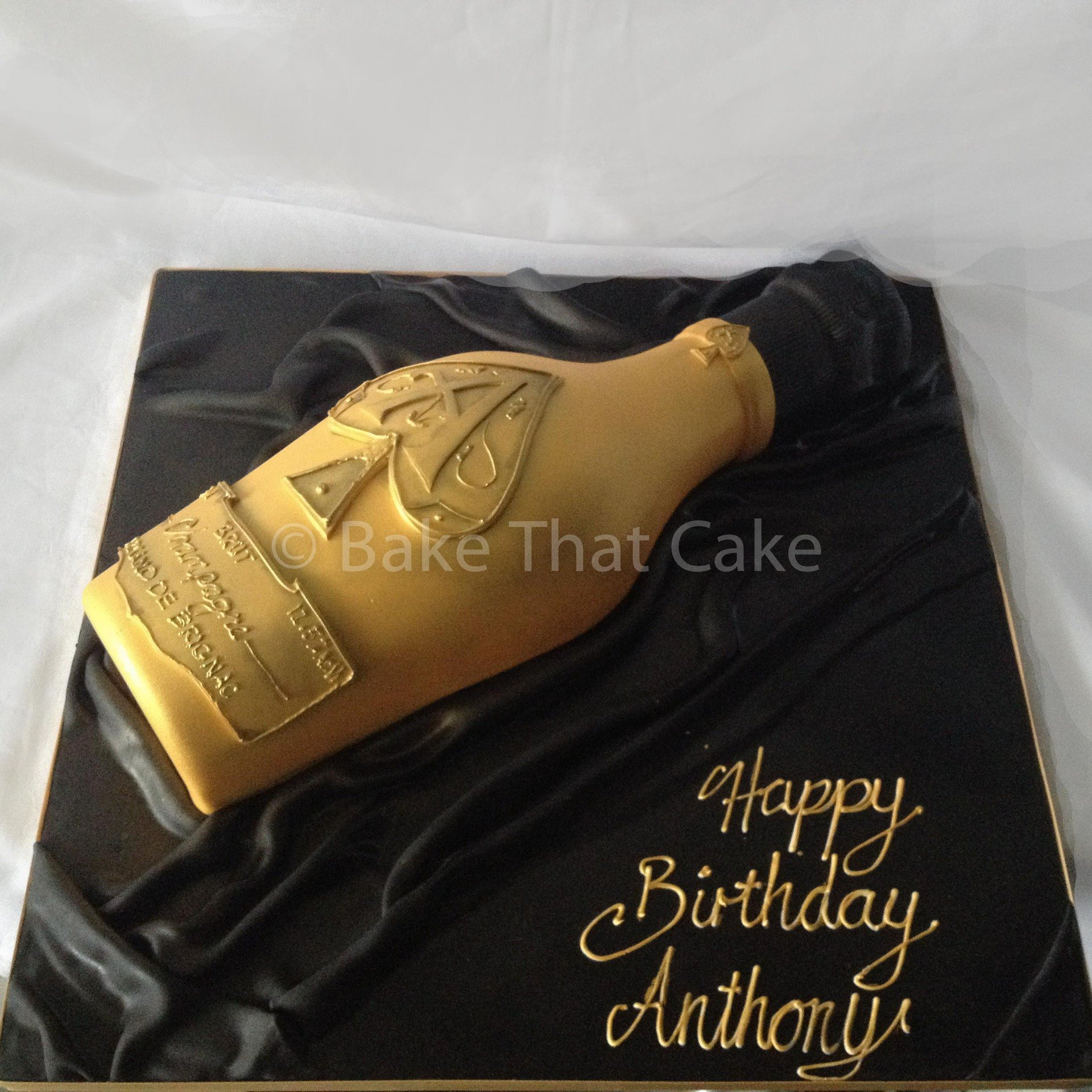 Cake Ace of Spades Bottle