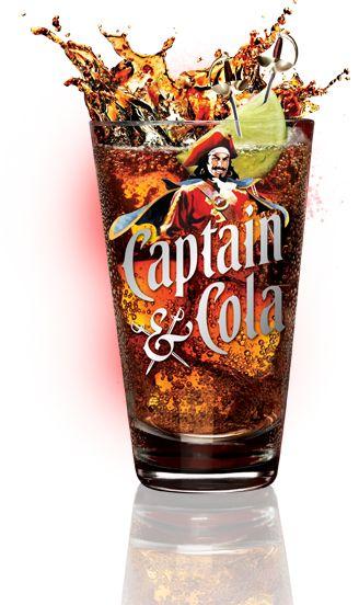 Captain Morgan and Diet Coke
