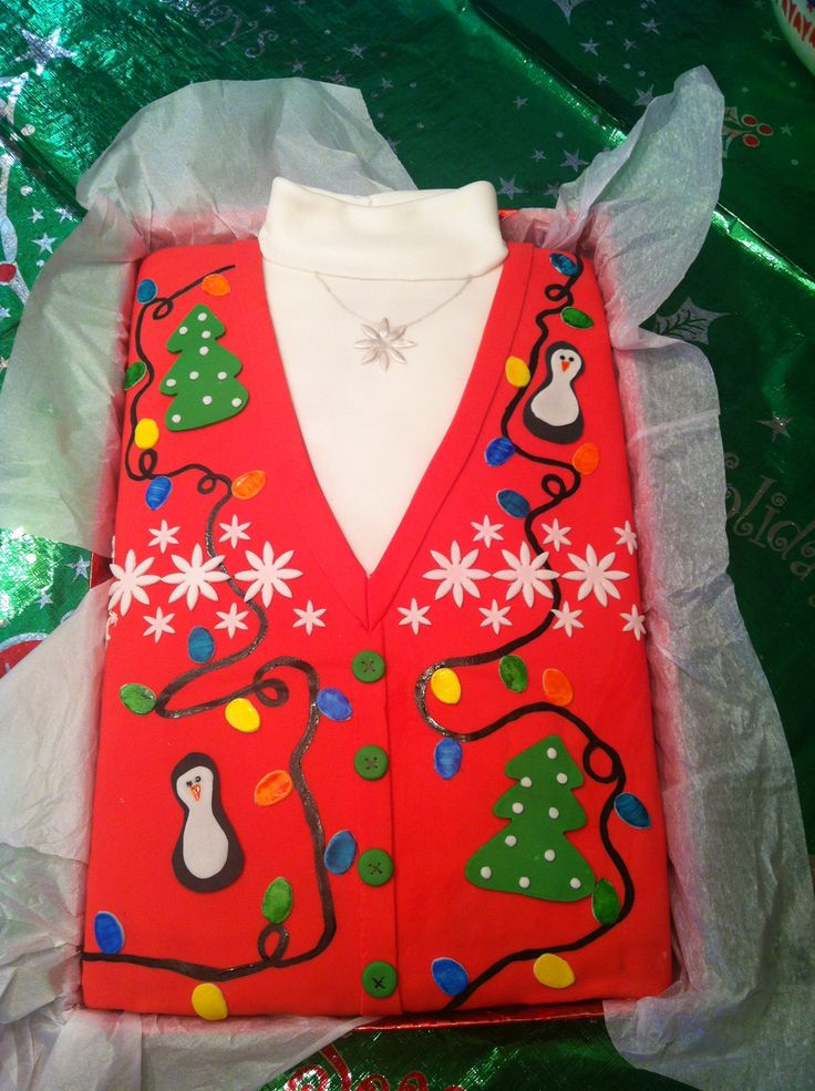 12 Photos of Cakes Christmas Sweater
