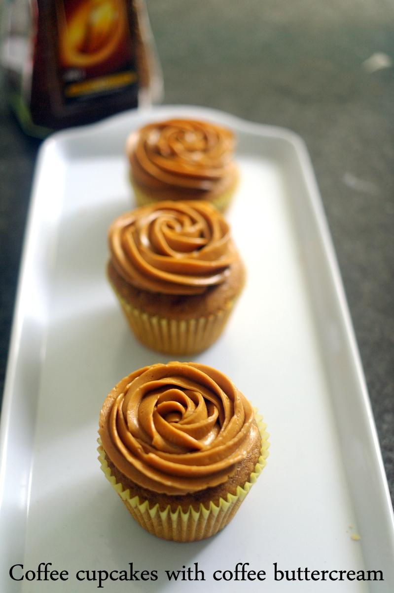 5 Photos of Coffee Buttercream Cupcakes