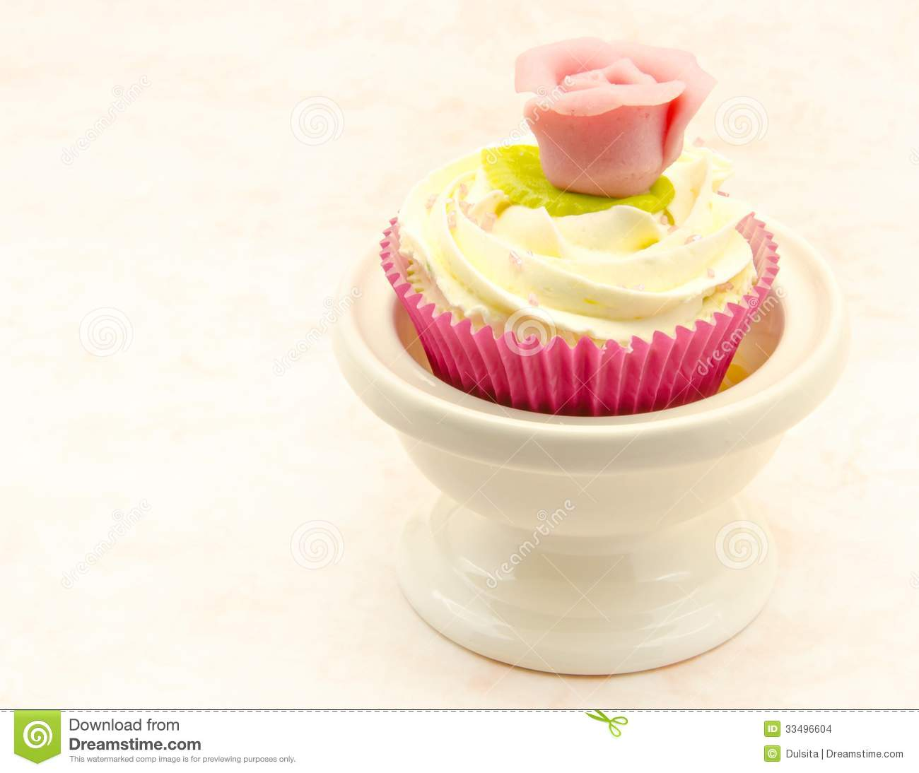 Cupcake with White Backround