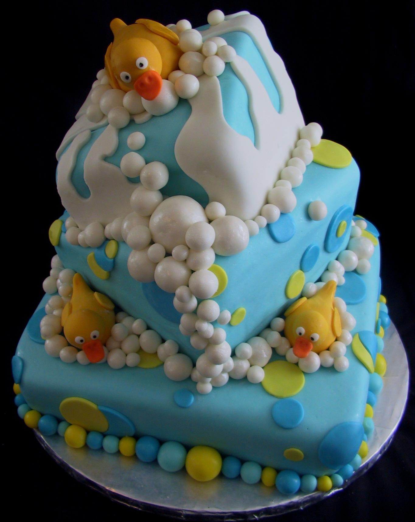 Duck Baby Shower Cake Ideas