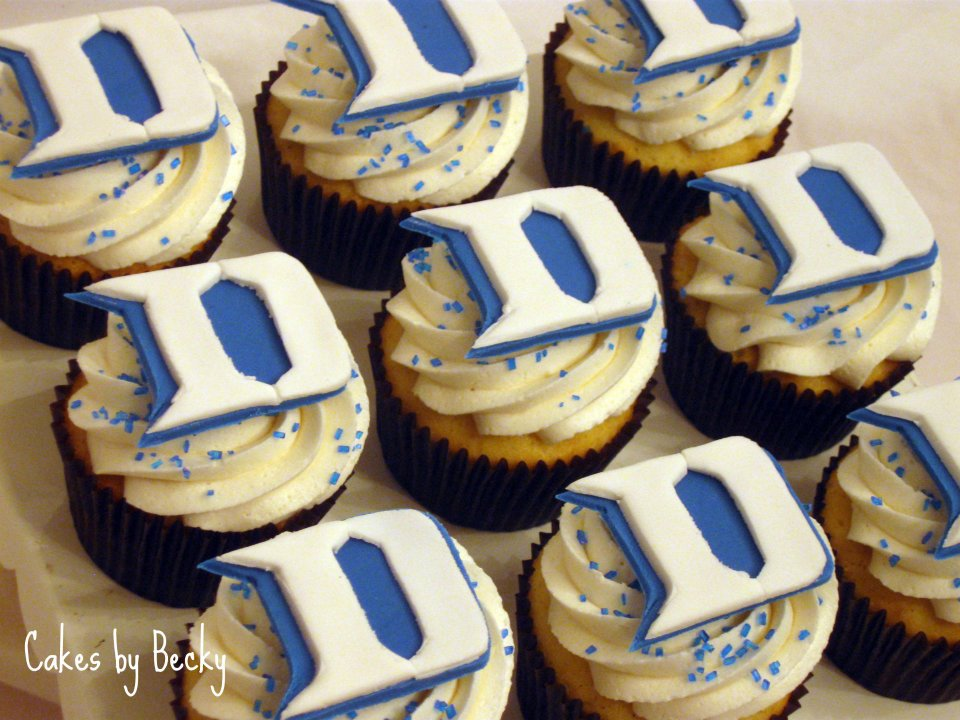 11 Photos of Blue Devil Cupcakes