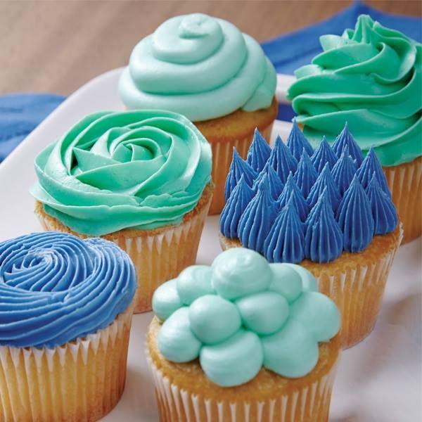 Easy Cupcake Decorating Buttercream