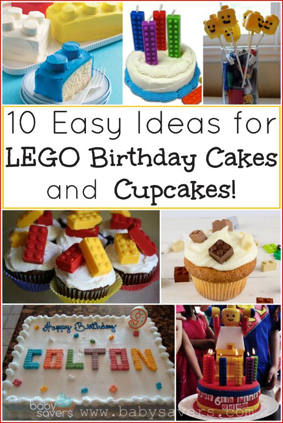 Easy LEGO Birthday Cake