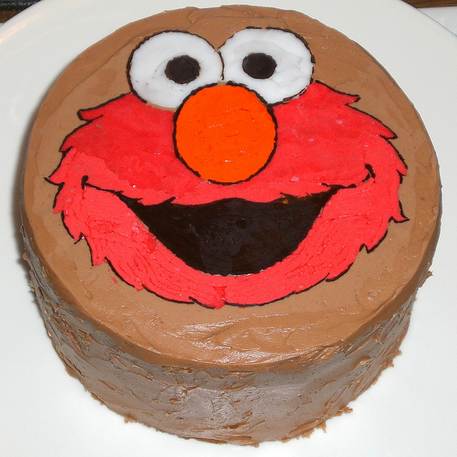 9 Photos of Elmo Cupcake Birthday Cakes