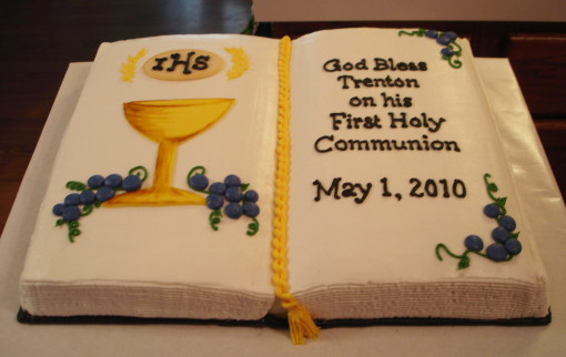 9 Photos of 1st Communion Bible Cakes