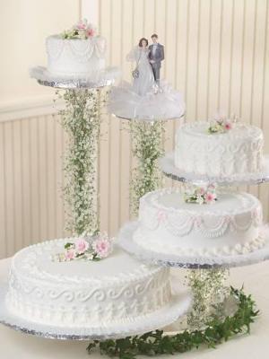 Floating Cake Stand Wedding Cakes