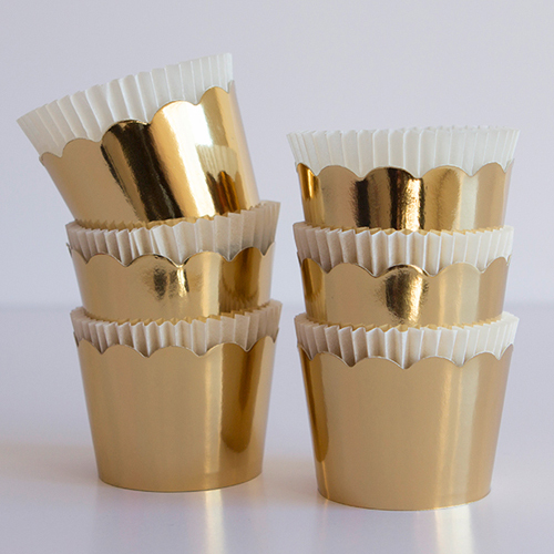 Gold Crown Baking Cups