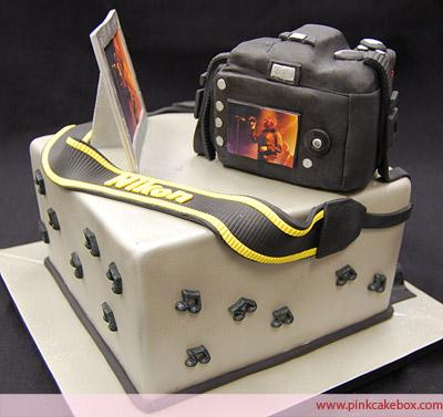 Happy Birthday Photographer Cake